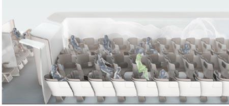 As� ser�n los aviones del futuro