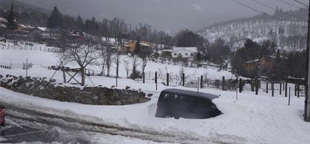 Espa�a, bajo la nieve