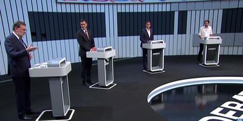 Debate a cuatro