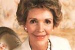 La esposa de Ronald Reagan.