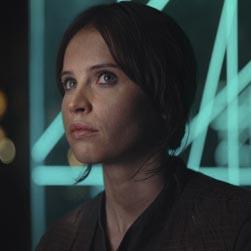 La protagonista es Felicity Jones.