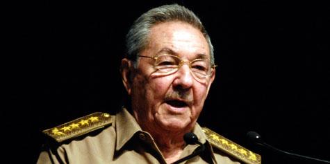 Raul Castro tras  la liberaci�n